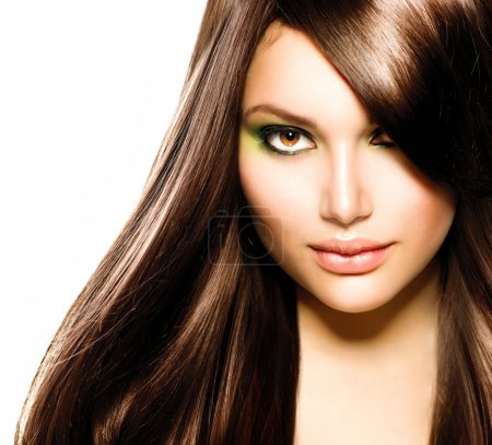 Beautiful Brunette Girl.
