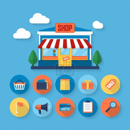 Online shopping and business marketing