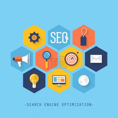 Infographics of website SEO optimization