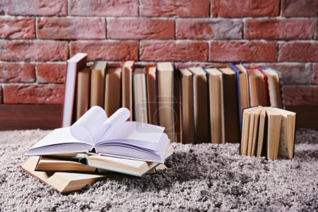 Set of Pile of books