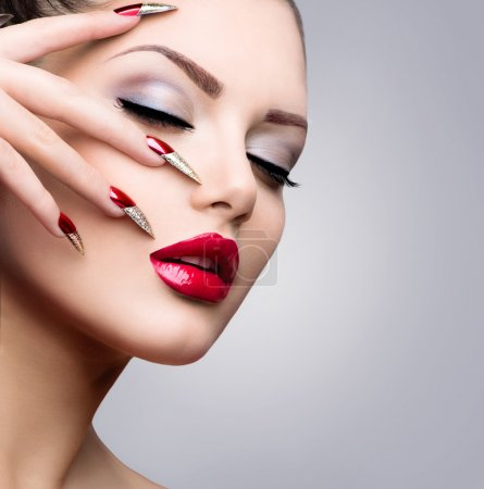 Makeup and nails