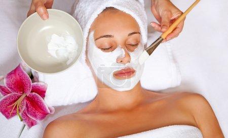 Spa face mask